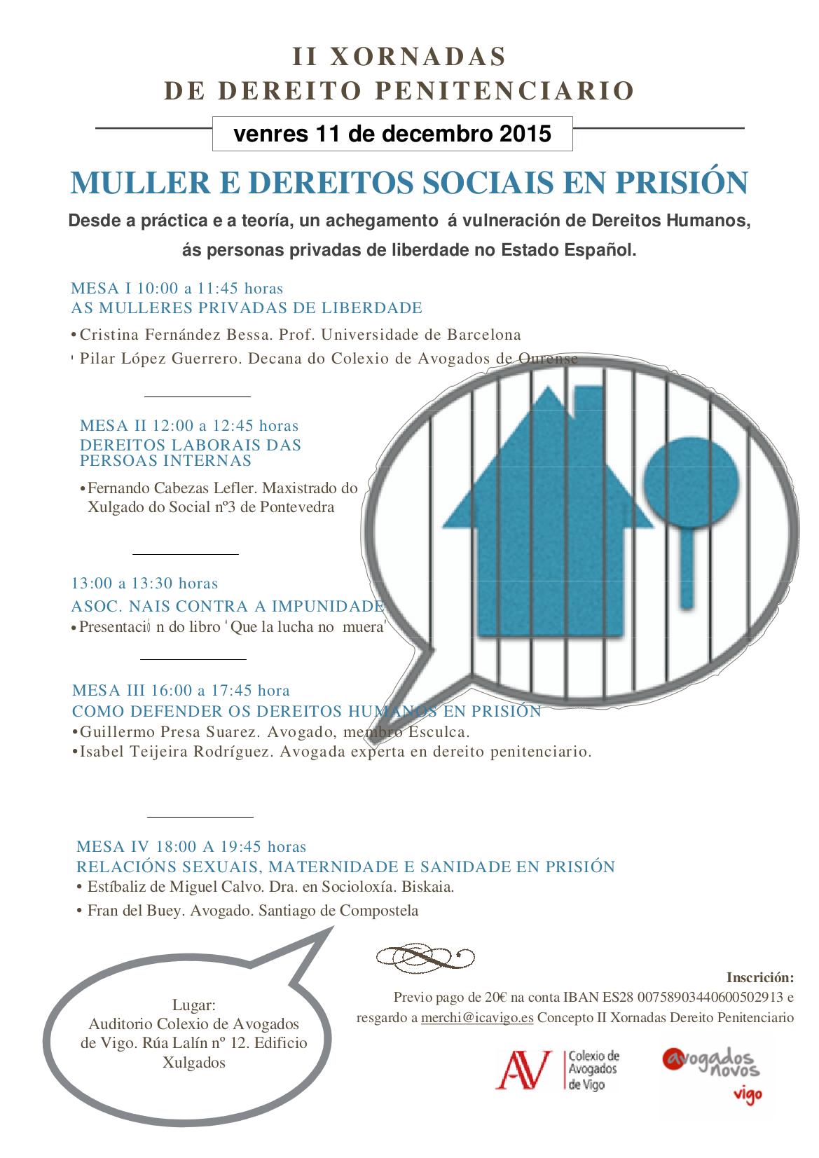 cartel II Penitenciario